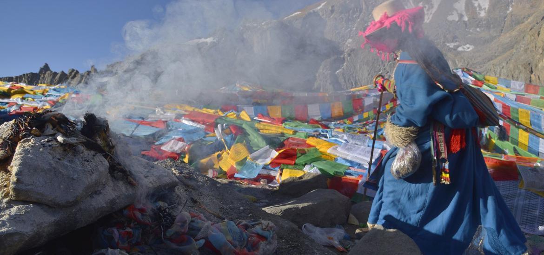 Кора вокруг Кайласа. Паломничество в Тибет.
