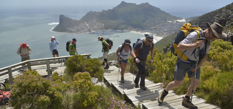 Поход на Столовую гору, из Кейптауна до мыса Доброй Надежды
