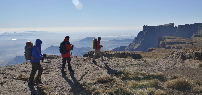 Пешком в Лесото, горы Дракенсберг