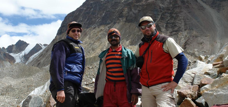 Ночевки Тапован (4600 м), траверс Гарвальских Гималаев