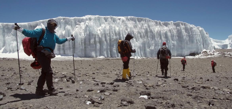 Восхождение на Килиманджаро траверсом через кратер