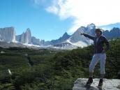 Панорама на гору Фицрой, тур в Патагонию