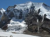 вид на ледник Суэта, траверс Гарвальских Гималаев