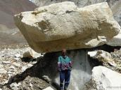 На переходе в лагерь Васуки Тал (4850 м), траверс Ганготри - Бадринатх
