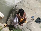 паломник у истоков Ганга, Ганготри