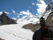 вид на границу с Тибетом, треккинг Ганготри - Бадринадх