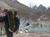 выше лагеря Кала Патар (5430 м), траверс Ганготри - Бадринадх