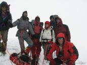 На вершине перевала Калинди (6010 м), Гарвальские Гималаи