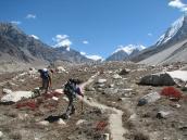 На пути к Нандавану, траверс Гарвальских Гималаев