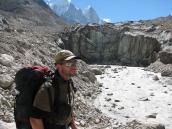 Рядом с Гуамоком на заброске в Нандаван, траверс Гарвальских Гималаев