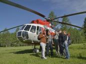 Вертолетный тур на Алтай