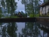 Баня и купель на базе отдыха Телецкого озера
