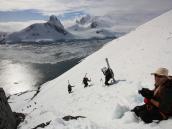 В горах Антарктики