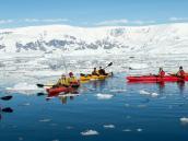 Круиз по Антарктике, с веслами наперевес