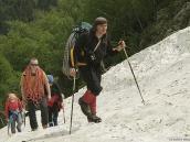 Подъем на ледник Кашкаташ, восхождение на Эльбрус