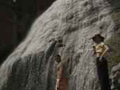 У водопада на склонах Эльбруса