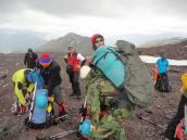 восхождение на Казбек, трекинг в горах Грузии