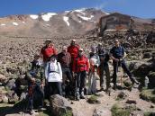 Прощание с Демавендом, после восхождения в легере 4200 м.
