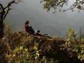 Восхождение на Мера, в деревне Коте
