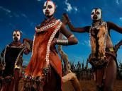 Колоритные аборигены с юга Эфиопии.