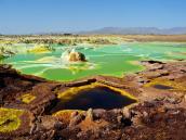 Тур в Эфиопию, впадина Даллол в пустыне Данакиль.