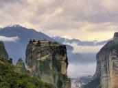 путешествие в Грецию, монастырь в горах, Метеоры