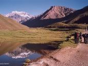 Фото из тура в Аргентину в 2006 году. Треккинг на подходе к Аконкагуа