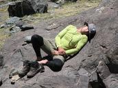 Фото из тура в Аргентину в 2006 году. Акклиматизация на склонах пика Валлеситос.