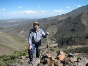 Фото из тура в Аргентину в 2006 году. Михаил Любимов на маршруте