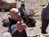 Фото из тура в Аргентину в 2012 году. Саркис нашел подкову - это к удаче!