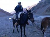 """Фото из тура в Аргентину в 2012 году. """"Я на коне как на войне!.."""""""