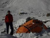 Фото из тура в Аргентину в 2012 году. Первый снег в первом лагере