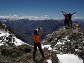 Фото из тура в Аргентину в 2006 году. Фотосессия на склоне Аконкагуа - романтика!