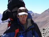 Фото из тура в Аргентину в 2006 году. Тони, талантливый гид на Аконкагуа