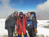 Фото из тура в Аргентину в 2006 году. Вершина Аконкагуа, ура!