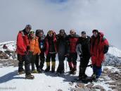 Фото из тура в Аргентину в 2006 году. Группа в полном сборе на вершине Аконкагуа