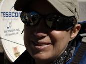 Фото из тура в Аргентину в 2006 году. Татьяна Тихомирова, после спуска с Аконкагуа в Плаза де Мулас