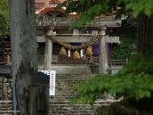 Фото из тура в Японию в 2012 году. Синтоистский храм отличают бумажные записки и свитые из рисовых стеблей канатики и колокольчики.