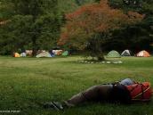 Фото из тура в Японию в 2012 году. На Камикочи есть возможность жить как в кемпинге, так и в хижинах в дорм-румах. Проживание в дорм-руме с ужином и завтраком обходится не дешево.