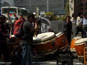 Фото из тура в Японию в 2012 году. Уличное шоу барабанов в Матцумото.