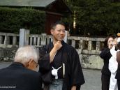 Фото из тура в Японию в 2012 году. Счастливый жених!..