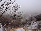 Снег в Японских Альпах