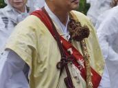 тур в Японию, портрет монаха