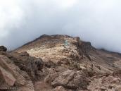 Фото из тура в Танзанию в 2005. Лагерь Барафу. Вид со спусковой тропы.
