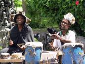 Фото из тура в Танзанию в 2005 году. Этнографическая программа во время сафари.