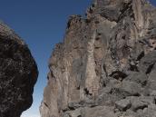 Фото из тура в Танзанию в 2009 году. Лавовая Башня, высота 4500 м.