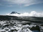 Фото из тура в Танзанию в 2009 году. Вид из Барафу на пик Мавензи - вторую вершину Килиманджаро.