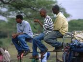 Фото из тура в Танзанию в 2004 году. Короткая передышка
