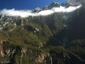 Фото из тура в Новую Зеландию в 2011 году. Вот уж действительно, Страна Длинного Белого Облака! Новая Зеландия.