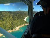"""Фото из тура в Новую Зеландию в 2011 году. """"Под крылом самолета о чем-то поет зеленое море..."""" Новая Зеландия."""